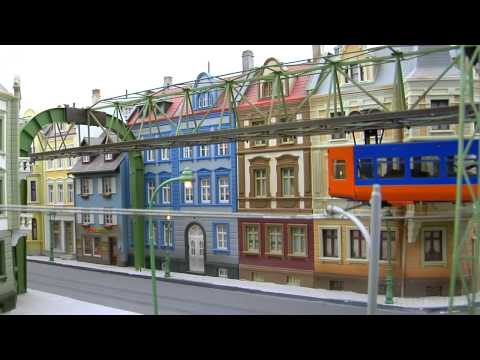 Monorail and Suspension Railway Scale Model Train HO Scale