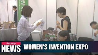 Global Women's Invention Expo kicks off Thursday with brilliant ideas and products