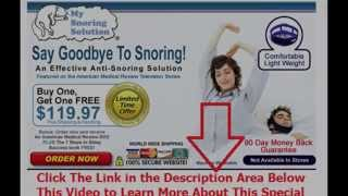 best stop snoring aids | Say Goodbye To Snoring