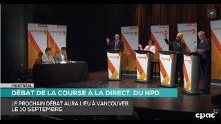 Montreal NDP Leadership Debate Summary
