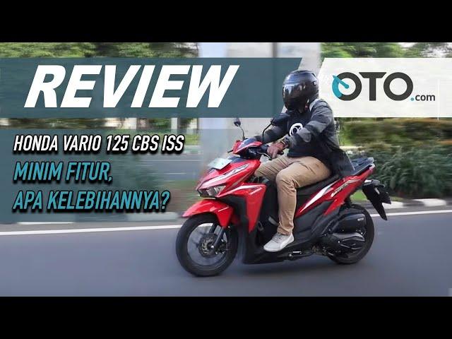 Honda Vario 125 2020 Cbs Iss Price Specs Review For September 2020