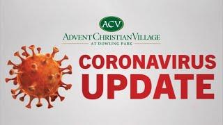 May 20, 2020, COVID-19 (coronavirus) update