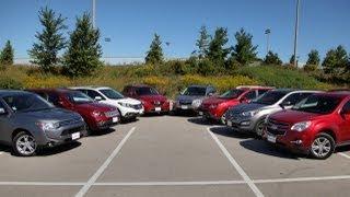 сравнительный тест ford kuga honda cr-v rav4
