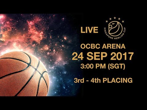 Basketball 🏀  ​Battle for third place | Singapore Merlion Cup 2017
