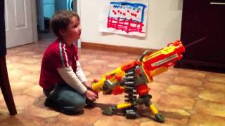 Nerf Belt Fed Machine Gun