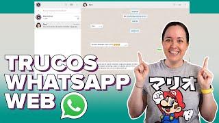 Mira TODO lo que puedes hacer con WhatsApp Web! (trucos y consejos)  | ChicaGeek