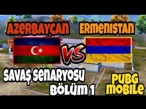 AZERBAYCAN VS ERMENİSTAN SAVAŞI !!!  / 1. bölüm (PUBG MOBİLE)