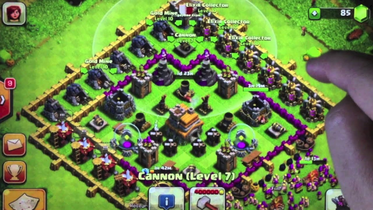 Clash of clans coc chapter 3 advanced base defense ~ clash of.