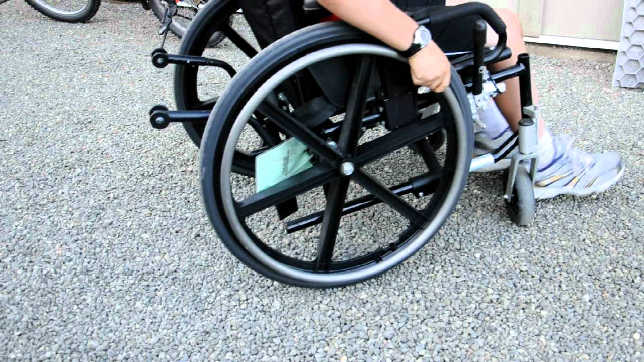 Core Gravel wheelchair friendly gravel driveway demo