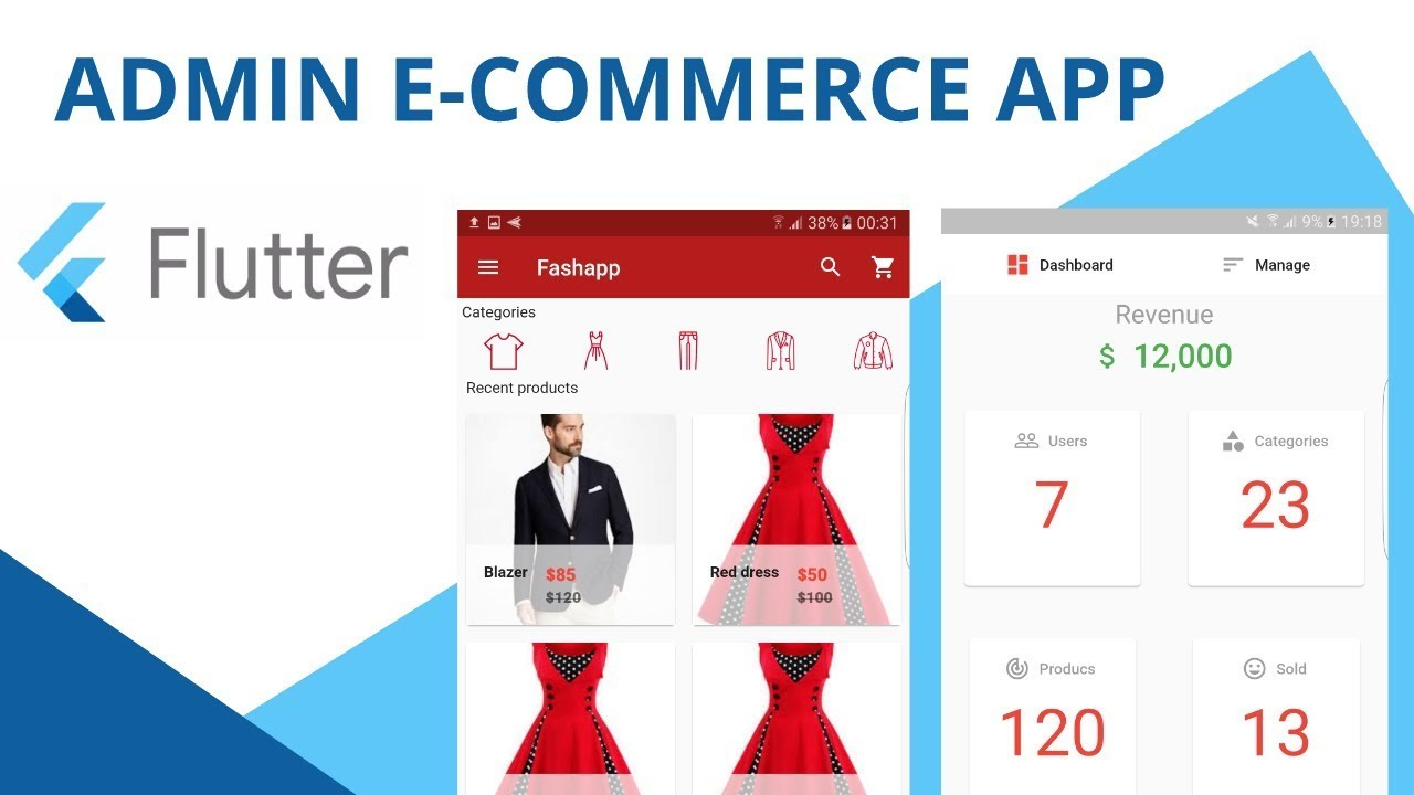 33  Adding products to the database (Flutter e-commerce)