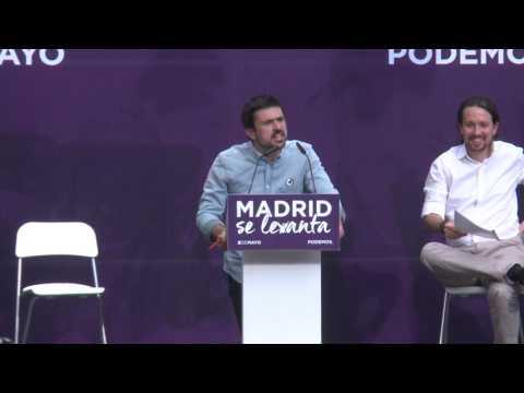 Podemos y su 'Madrid se levanta'