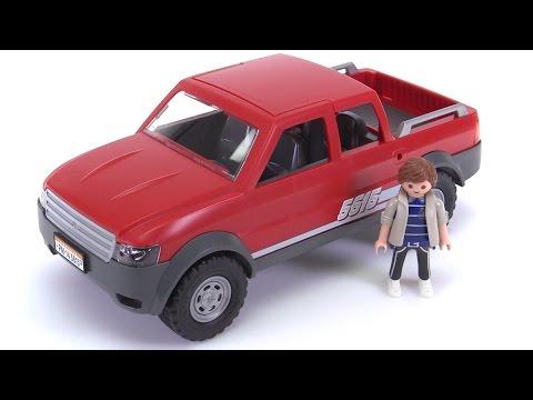 playmobil pickup truck reviewed set 5615 youtube. Black Bedroom Furniture Sets. Home Design Ideas