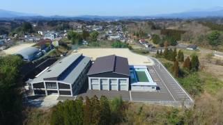 空撮 故郷の映像 豊後大野市立 清川中学校