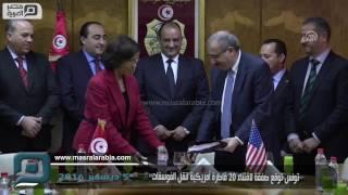 مصر العربية | تونس توقع صفقة لاقتناء 20 قاطرة أمريكية لنقل الفوسفات