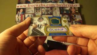 2011 Topps Supreme Football Case Box 11 Boxbreakers Group