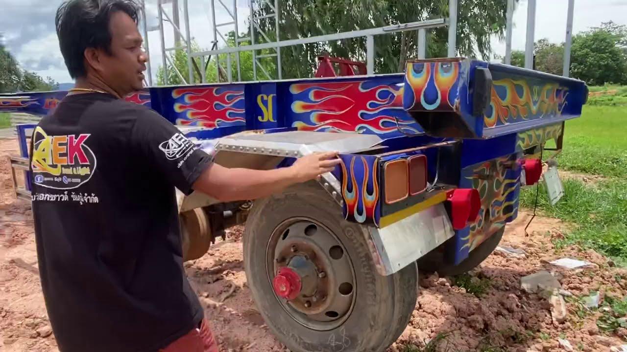 พร้อมลุยอีก 1 คัน รถแห่ จากจังหวัด กาญจนบุรี