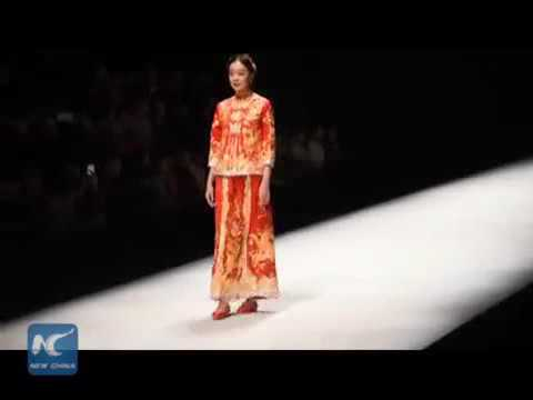 28337 rizne fashion New China Art on wedding dress! Watch Chinese traditional wedding dresses with s