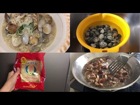 CLAM SOUP with  Noodles | Negosyo Recipes