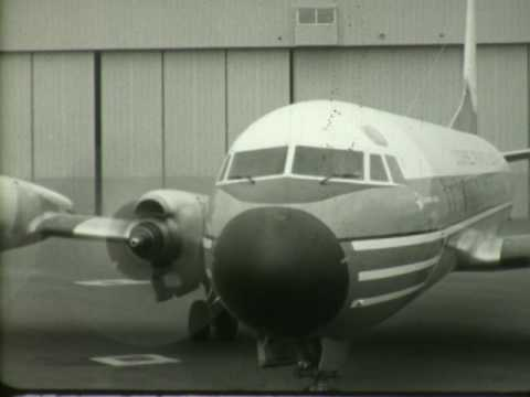 F 2288 American Airlines News Reel: New Aircraft Lockheed Electra