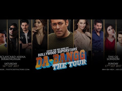 Salman Khan | Da Bangg The Tour Press conference | Sonakshi Sinha | Jacqueline Fernandez |Full HD