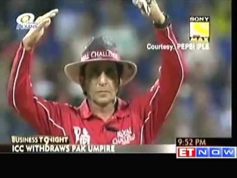 IPL Spotfixing : Pak Umpire Asad Rauf Under Radar