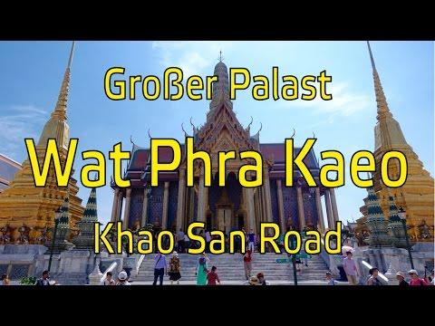 Großer Palast | Wat Phra Kaeo | Khao San Road | Weltreise Vlog 19
