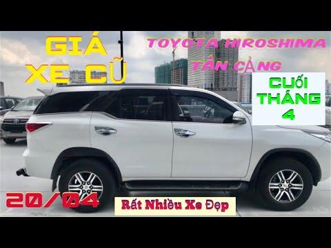 Giá Xe Cũ Tại Toyota Tân Cảng Cuối Tháng 4/2021   Innova, Vios, Yaris, Fortuner GIÁ TỐT 0937688847