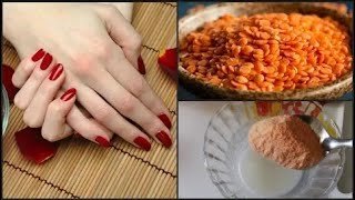 Skin Whitening and Brightening face mask with Masoor Dal in 7 Days skin care
