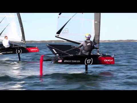 """Foiling camp finale: """"Everyone has a smile on their face"""""""