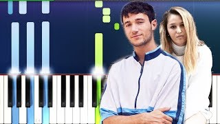 Jeremy Zucker, Chelsea Cutler - you were good to me (Piano Tutorial)