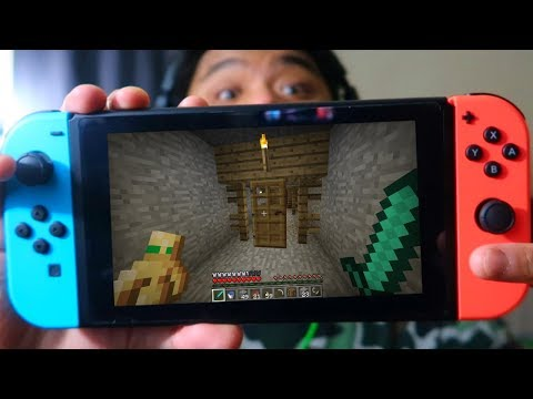 Something Lives in This Mineshaft in Minecraft Switch Edition (Part 4)