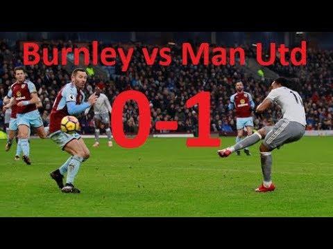 Burnley vs Manchester United 0-1 Highlights | Stats ...