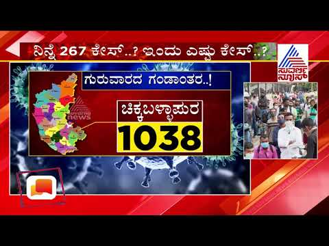District-Wise COVID-19 Cases In Karnataka