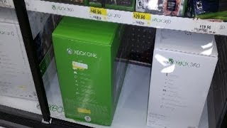 Xbox One Sits at Walmart