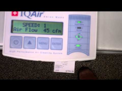 How Do I Change the Filters on my IQ Air?  Douglas Vacuum & Allergy Relief.