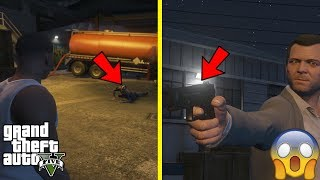 GTA 5 - What Happens if You DON'T SHOOT Trevor in The Final Mission (unique ending cutscene)