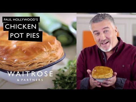 Get Baking with Paul Hollywood | Chicken Pot Pies | Waitrose