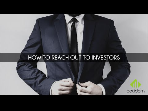 How To Reach Out To Investors