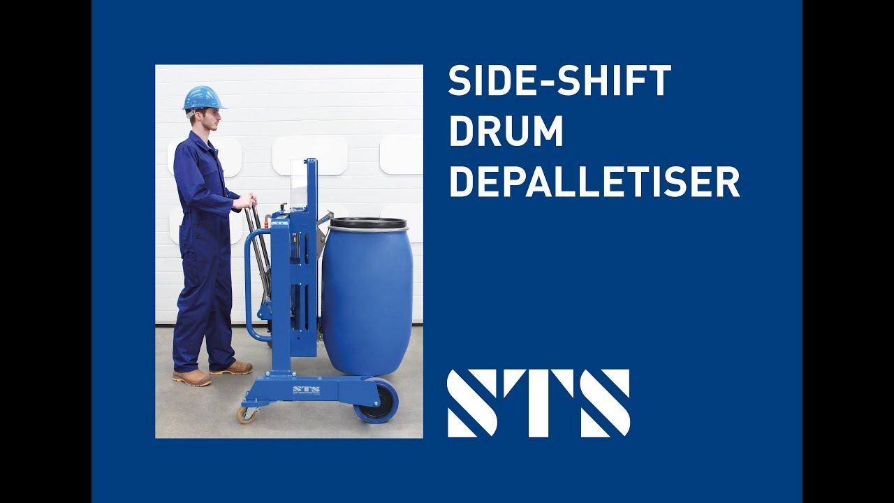 Side-Shift Drum Depalletiser (Model: DTP04) - New for 2018/19