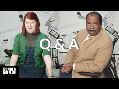 The Office Q&A with Kate Flannery Meredith Palmer & Leslie D. Baker Stanley Hudson