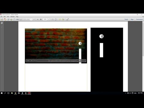 How To Add Or Embed Or Attach Videos And Files To A PDF Document Using Adobe Acrobat?