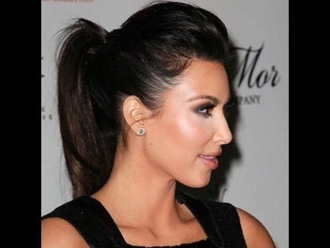 Tutorial De Peinado Coleta Estilo Kim Kardashian Anastassia Sfeir