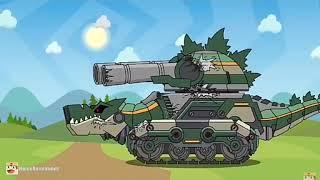 ВІН МОНСТР КВ-44М кліп - мультики про танки