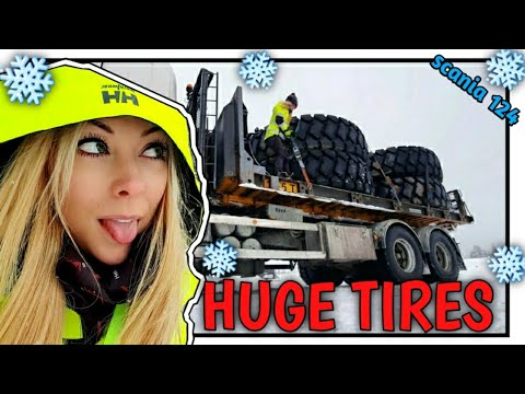 💃🏼 DUMP TRUCK TIRES, moving cargo - Angelica Larsson