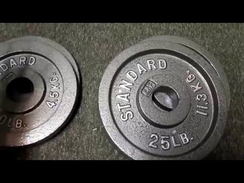 Cap Barbell 300 Lb Weight Set Initial Review