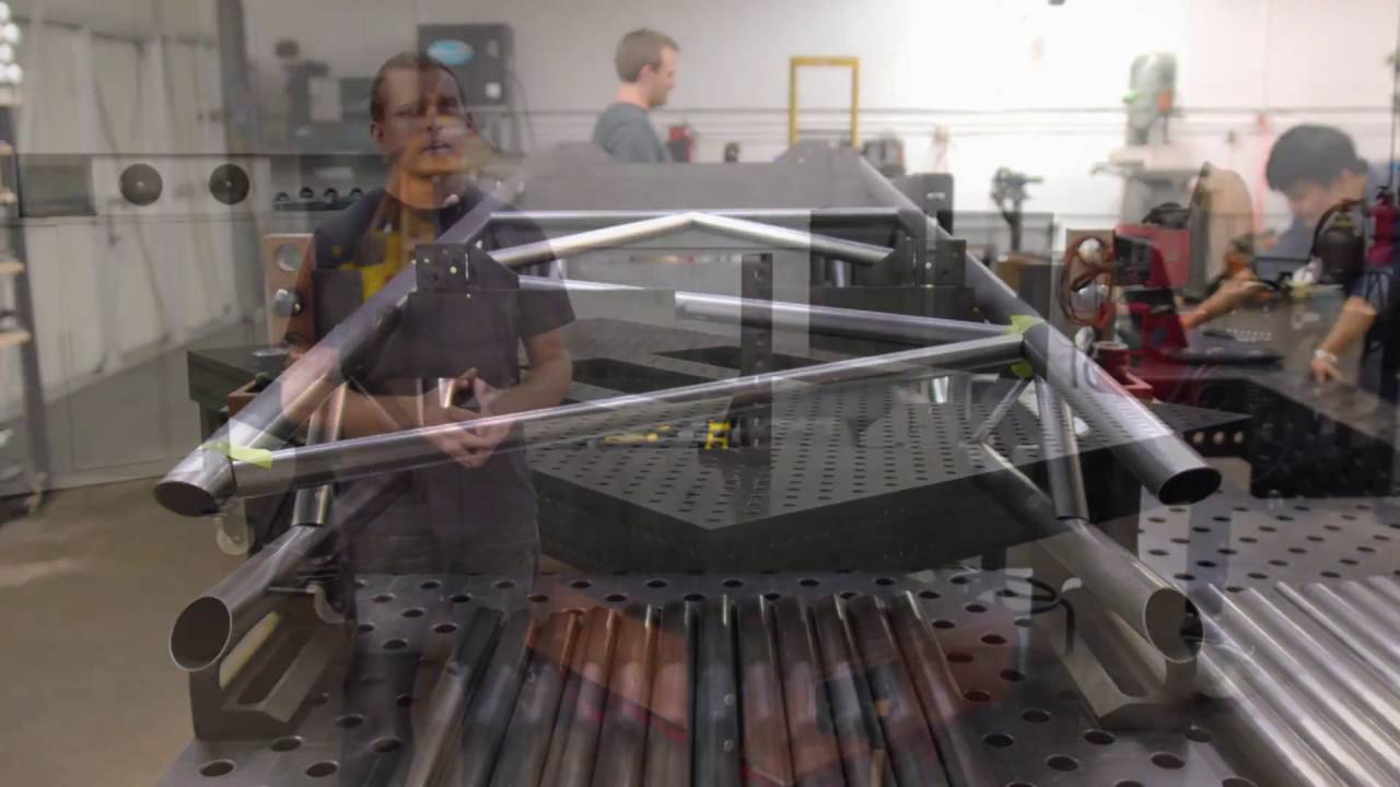 Siegmund Building A Solar Car Chis On Welding Tables You
