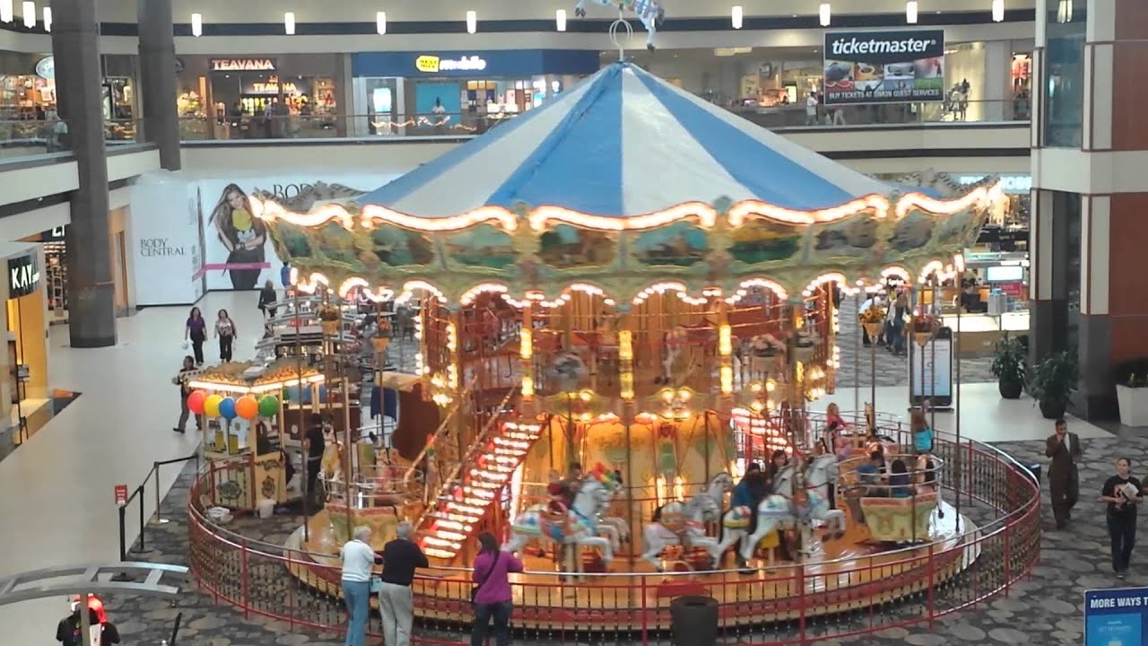 Maplewood Mall Carousel Hd Youtube