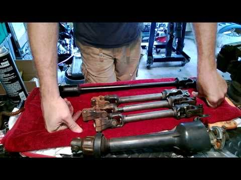 Steering Shaft Upgrade - 82-92 F-body - Astro Van Shaft Modifications