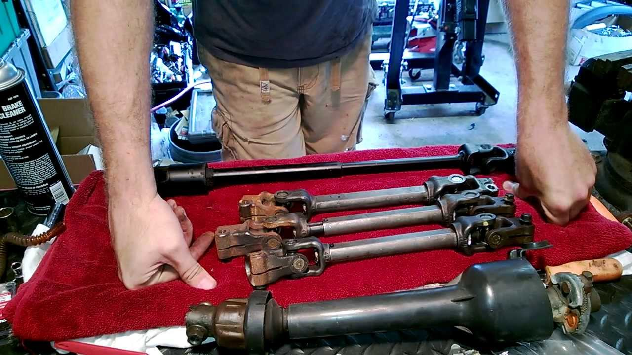 small resolution of steering shaft upgrade 82 92 f body astro van shaft modifications youtube