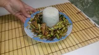 Тёплый Тайский салат! ВКУСНОТИЩА! Любители Тайской кухни просто в восторге!